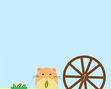 Hamster down