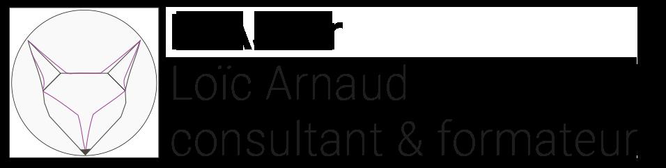 Logo Inaji communication Loïc ARNAUD Consultant & formateur